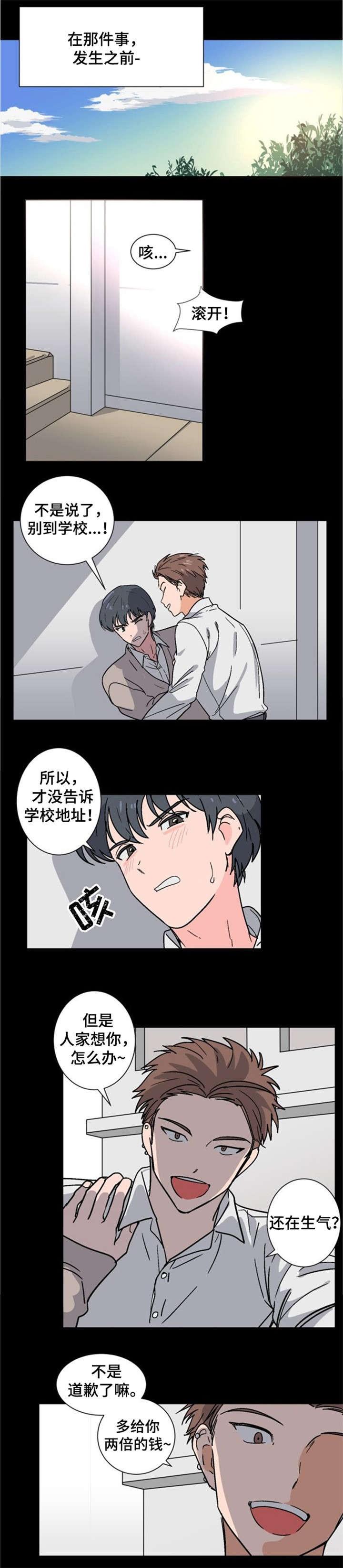 《以身抵租》漫画韩漫&完整版(全文在线阅读)